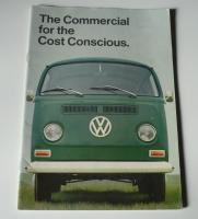 1969 Bay Window Sales Brochure