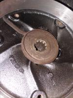 Rear brake drum oil Slinger