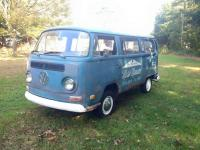 My '70 commercial Kombi, back on the road for the Very first time since 1972/73  (yes, it's been that long)