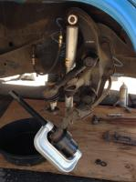 Ball Joint removal with tool