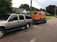 73 Campmobile, orange, Hobobus