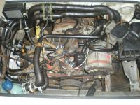 Before pix of fuel hose routing next to hot engine block