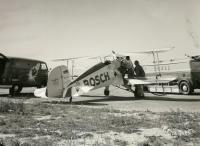Bosch logo Panel Bus and Bosch plane