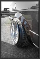 stretched tire