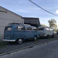 Pair of 67 built campers