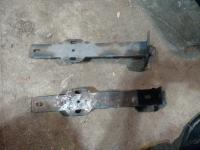 Early bumper brackets for a late model ghia