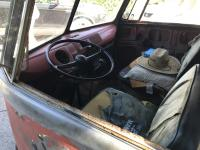 Front Cab Seating and Dash