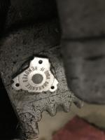 Engine block tag