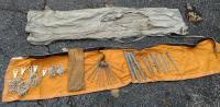 Bag of tent stakes and pieces