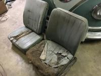 Seats to be reupholstered