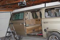 ams getting van into garage