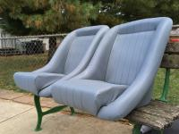 EMPI Roadster Seats Dyed Gray.