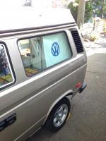 Vanagon Westy curtains