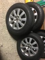 """Eurovan 16"""" x 7 Borbet wheels Et40"""