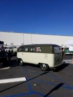 Restored Sand Green / Palm Green Bus