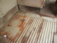 Cargo floor 1966 deluxe bus