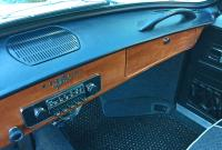 Detail of '67 dash pad w/speaker
