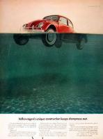 VW ad floats