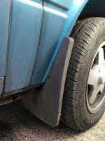 VWSA Microbus heavy duty rubber mudflaps