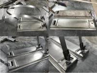 Gas tank pedestals for T2 single and double cabs Repair panel
