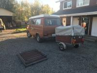 Essen trailer and vanagon