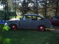 Here is my car Two weeks before the restoration