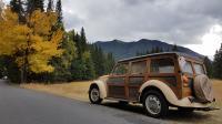 1968 vw beetle woody wagon