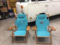 Some cool chairs we had made in cap cod this summer