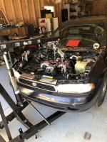 95 Legacy Donor Engine Removal