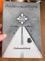 Telefunken Radio instruction manual