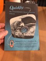 Vintage Quickly brochure