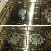 Stainless Stove Grate inserts