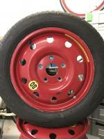 Porsche 996 spare wheel