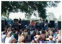 1970 Jax, Florida. Lynard Skynard playing a gig