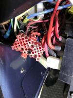 87 back of fuse panel plug B
