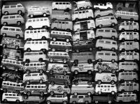 Black and White Bus Colection