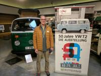 VW T2 exhibit at the PS Speicher museum in Einbach