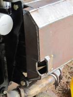 Vanangon 2.2 Subaru oil pan skid plate.