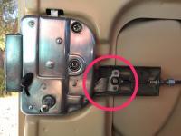 Sliding door Lock mechanism
