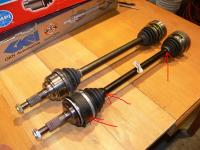 Syncro front axles/CVs