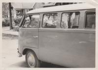 vintage vw barndoor photos