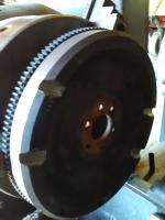 Modified tdi flywheel