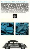 Sleeping in a Beetle (Folding down seats)