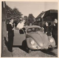 Vintage VW split window Beetle photos