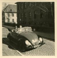 Vintage VW cabriolet photos