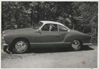 Vintage VW Karmann Ghia photo
