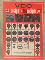 VDO Cockpit & Top-Cockpit gauges poster