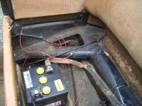 Split Kabriolet Wiring Loom route
