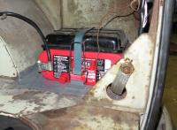 optima 6v battery mounting