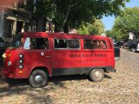 Triple Eight Vodka vw bus